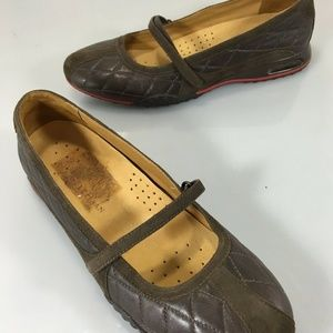 Cole Haan Womens 7 B Bria Brown Mary Janes Shoes